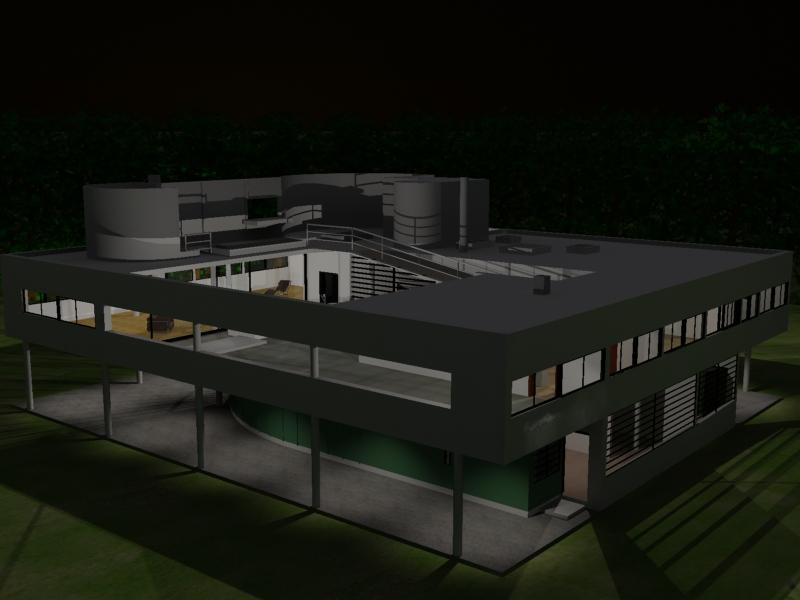 Arquitectura p gina 2 david lamp n diestre - La villa savoye wikipedia ...