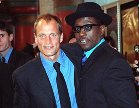 Woody Harrelson y Wesley Snipes